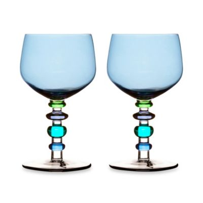 Sagaform® Spectra Blue Wine Glass (Set of 2)