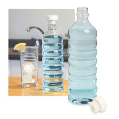 Re-Fill Glass Water Bottle