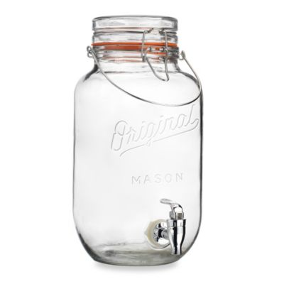 Original Mason 3.68-Quart Beverage Dispenser