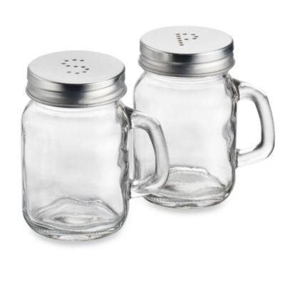 Original Mason Salt and Pepper Shakers