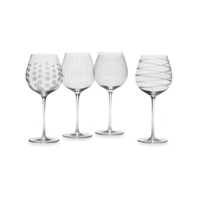 Mikasa® Cheers 21 oz. White Wine Glasses (Set of 4)