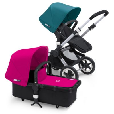 Bugaboo Buffalo Tailored Fabric Set in Blue