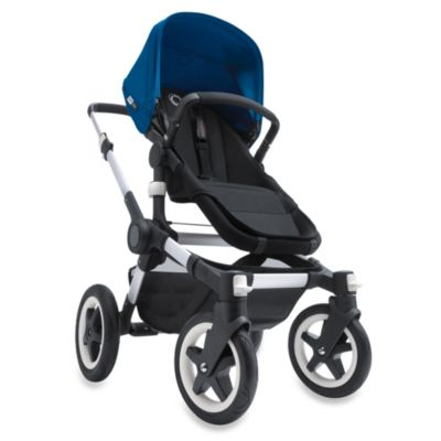 Buffalo Stroller in Aluminum/Black