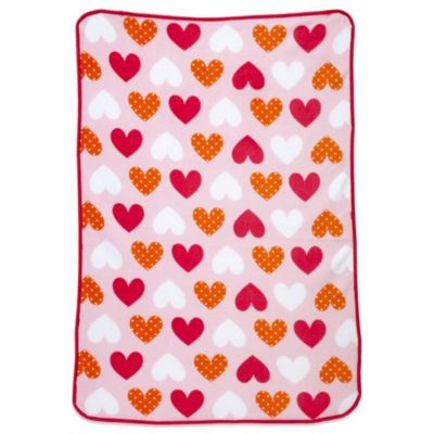 Carter's® Coral Fleece Ladybug Toddler Blanket