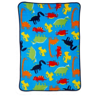 Carter's® Coral Fleece Prehistoric Pals Toddler Blanket