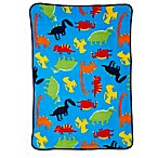 Carter's™ Coral Fleece Prehistoric Pals Toddler Blanket