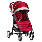 Baby Jogger® City Mini Single 4 Wheel Stroller in Crimson/Grey