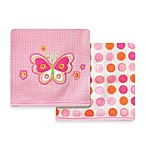 Spasilk® Butterfly 2-Pack Thermal Receiving Blanket