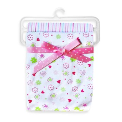 Spasilk® Flower 2-Pack Swaddle Blanket in Pink