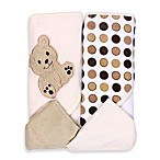 Spasilk™ Bear 2-Pack Hooded Towel and Washcloth Set in Ivory