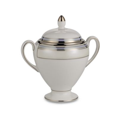 Wedgwood® Lustreware Covered Sugar Bowl
