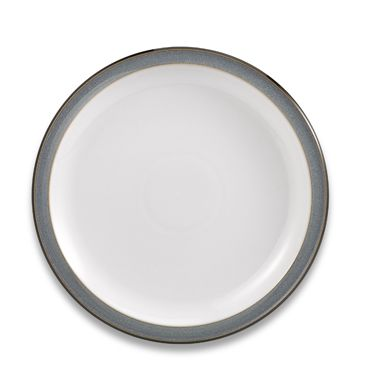 "Denby Jet Grey 10 1/2"" Dinner Plate"