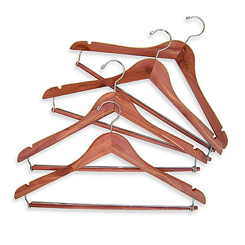 Cedar Suit Hangers (Set of 4)
