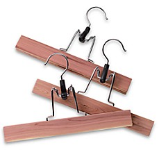 Cedar Pants Hangers (Set of 3)