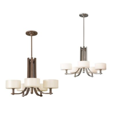 Feiss® Sunset Drive 5-Light Chandelier in Corinthian Bronze