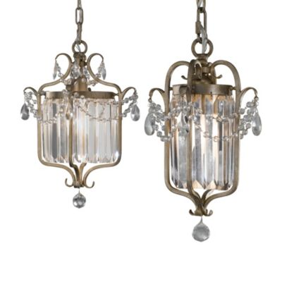Feiss® Gianna 13-Inch 1-Light Mini Duo Chandelier