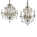 Feiss® Gianna Chandelier in Gilded Silver