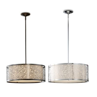 Feiss® Joplin 3-Light Pendant in Light Antique Bronze