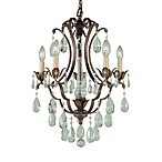 Feiss® Maison Deville 5-Light Mini Duo Chandelier