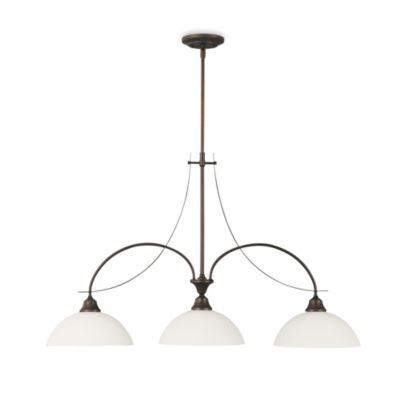 Feiss Boulevard 3-Light Oil Rubbed Bronze Chandelier