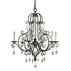 Feiss® Mocha Bronze 6-Light Chandelier
