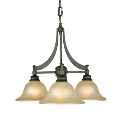 Feiss® 3-Light Oil Rubbed Bronze Chandelier