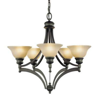 Feiss® Pub 5-Light Single Tier Chandelier