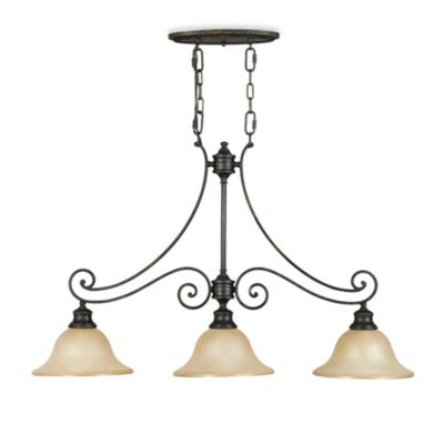 Feiss® Cervantes 3-Light Island Chandelier