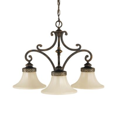 Feiss® Drawing Room 3-Light Kitchen Chandelier