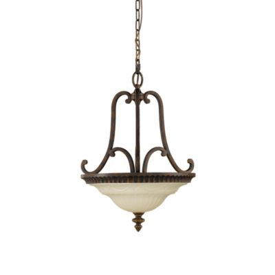 Feiss® Drawing Room 2-Light Bowl Pendant Chandelier