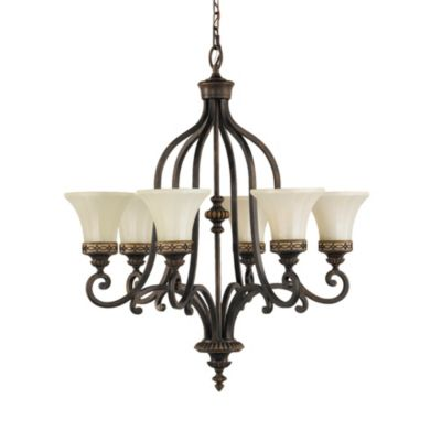 Feiss® Drawing Room 6-Light Single Tier Chandelier