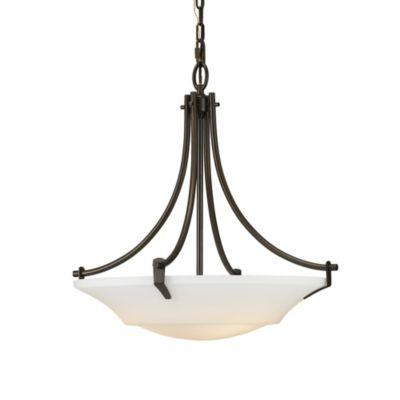Feiss® Barrington 22 1/4-Inch 3-Light Uplight Chandelier in Oil Rubbed Bronze