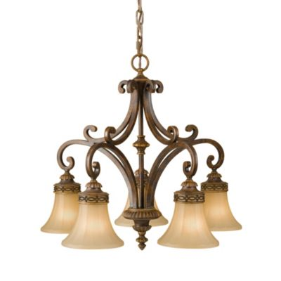 Feiss® Drawing Room 5-Light Kitchen Chandelier