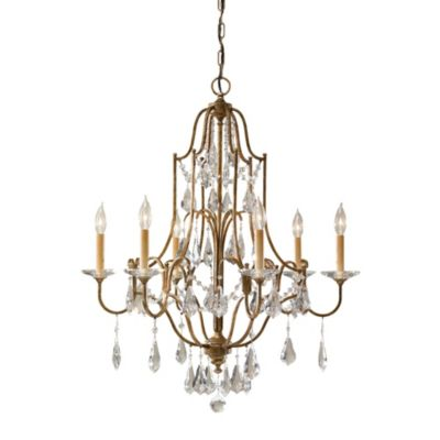 Feiss® Valentina Collection Oxidized 6-Light Chandelier