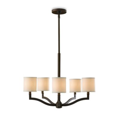 Feiss Stelle 5-Light Chandelier in Oil-Rubbed Bronze