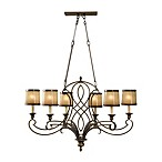 Feiss® Justine 6-Light Single Tier Chandelier