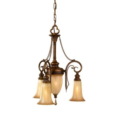 Feiss® Celine 4-Light Mini Duo Chandelier