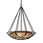 Feiss® El Nido 3-Light Bowl Chandelier