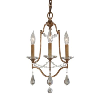 Feiss® Valentina 3-Light Chandelier in Oxidized Bronze