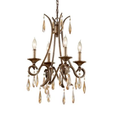 Feiss® Reina 4-Light Single Tier Chandelier
