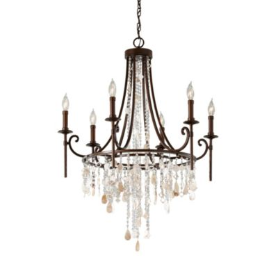 Feiss® Cascade Heritage 6-Light Chandelier