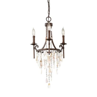 Feiss® Cascade 3-Light Mini Chandelier