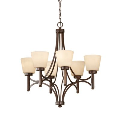 Feiss® Nolan 6-Light Single Tier Chandelier