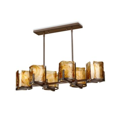 Feiss® Aris Roman Bronze Chandelier