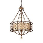 Feiss® 3-Light British Oxidized Bronze Chandelier