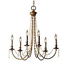 Feiss® Aura 6-Light Single Tier Chandelier