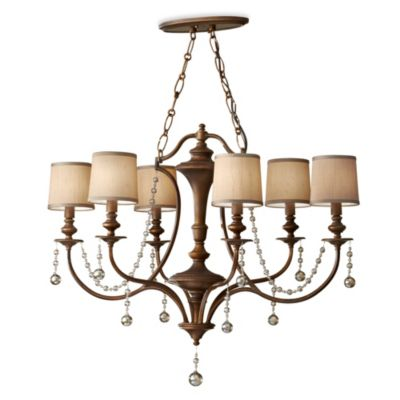 Feiss® Clarissa 6-Light Firenze Gold Mini Chandelier