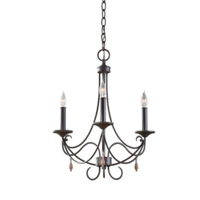 Feiss® Aliya 3-Light Single Tier Chandelier