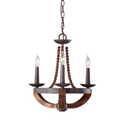 Feiss® Adan 3-Light Single Tier Chandelier