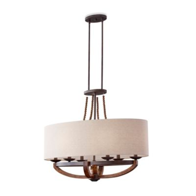 Feiss® Adan 6-Light Single Tier Chandelier